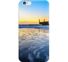In the sea waves at Domburg beach, Holland iPhone Case/Skin