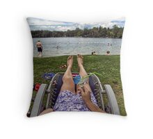 A Retirees Point Of View Throw Pillow