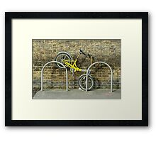 Biked  Framed Print