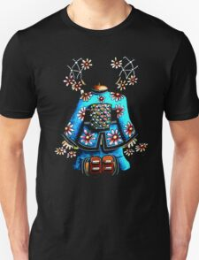 Asia Blue on Black TShirt by Karin Taylor Unisex T-Shirt