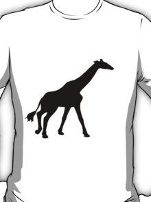 Black Giraffe T-Shirt
