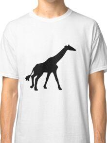 Black Giraffe Classic T-Shirt