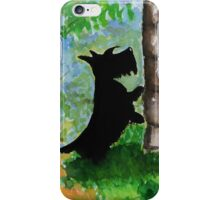 Scottie Dog 'Any Squirrels?' iPhone Case/Skin