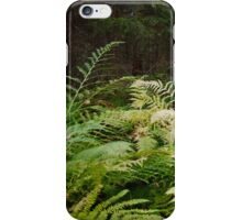 bed of ferns iPhone Case/Skin