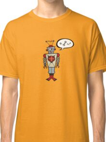 Robot Talking Nuts and Bolts Classic T-Shirt