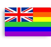 great britain gay flag Canvas Print