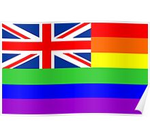 great britain gay flag Poster