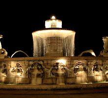 Munich Fountain by Germany