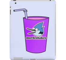 who's ready for mordeshakes? iPad Case/Skin