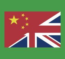 uk china flag Baby Tee