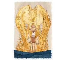 joan of Arc - inglorious end Photographic Print