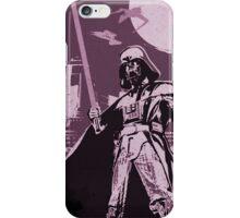 Darth Vadar - Purple iPhone Case/Skin