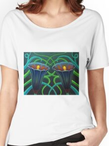 TULIPS Women's Relaxed Fit T-Shirt