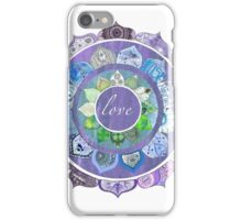 Positive Intentions Lotus Mandala iPhone Case/Skin