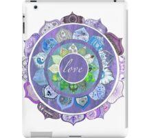 Positive Intentions Lotus Mandala iPad Case/Skin