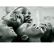 Looking at the stars - Congo Photographic Print