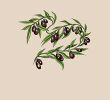 Olive Branch t-shirt Womens Fitted T-Shirt