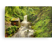 Rydal Hall Waterfall Metal Print