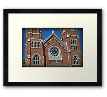 Windows Of Faith Framed Print