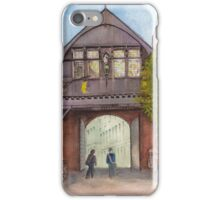 Historic Wooden Gate in Bruges (Brugge), Belgium iPhone Case/Skin