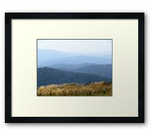 Misty Mountains - Victoria's High Country Framed Print