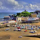 Regatta day at Tenby by griffin