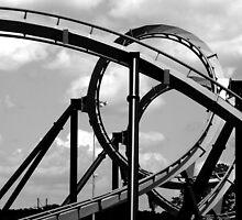 Coaster & Sky by NervousNellie