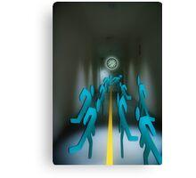"CorridorOf""KeepOnRunning"" Canvas Print"