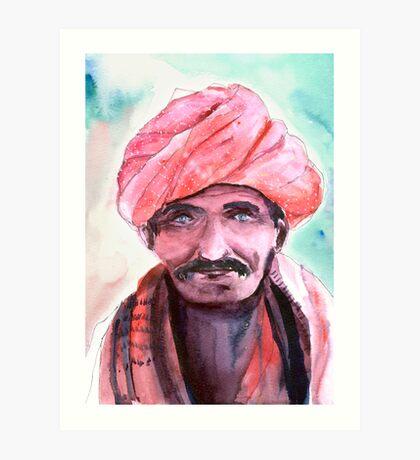 Village Chief Art Print