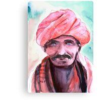 Village Chief Canvas Print