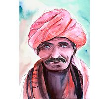 Village Chief Photographic Print