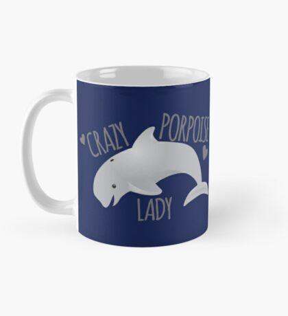 Crazy porpoise lady Mug