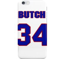 National baseball player Butch Metzger jersey 34 iPhone Case/Skin