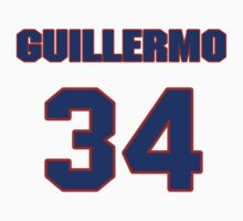 National baseball player Guillermo Moscoso jersey 34 by imsport