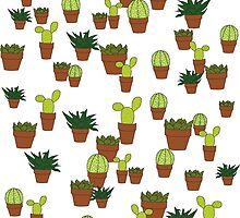 cacti & succulents by Tiarne Pollock