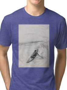 in the boath Tri-blend T-Shirt