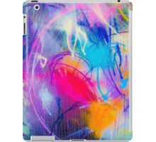 Lets throw some paint! iPad Case/Skin
