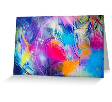 Lets throw some paint! Greeting Card