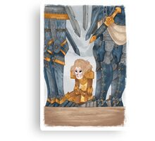 Joan of Arc - deafeat Canvas Print