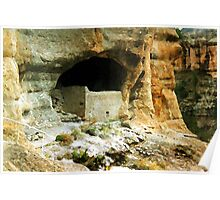 The Gila Cliff Dwellings Poster