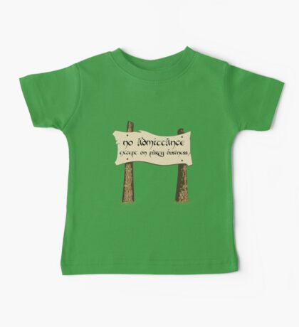 Party Business Baby Tee