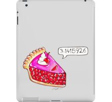 Cherry Pie Pi iPad Case/Skin