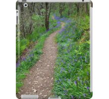 Along the Bluebell Path iPad Case/Skin