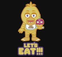 LET'S EAT One Piece - Short Sleeve