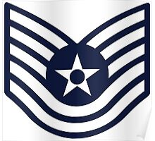 Air Force E-6 Technical Sergeant Poster