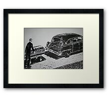 Shoving Off Framed Print