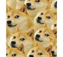 'Doge' Pattern by Emoji Mania