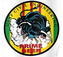 United States Air Force Prime Beef Poster