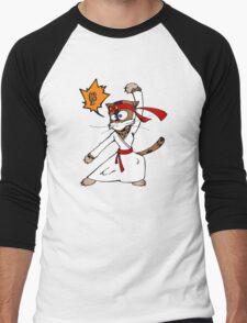 Karatéchat Men's Baseball ¾ T-Shirt