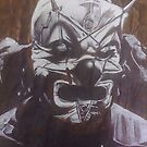 Shawn &#x27;The Clown&#x27; Crahan of Slipknot by Smogmonkey